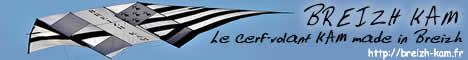 Le Breizh-kam, le cerf-volant KAP KAM made in Breizh