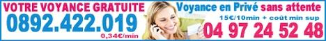 Voyance par téléphone - Audiotel, privée ou par SMS