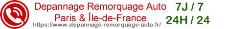 Dépannage automobile Paris et Ile de France